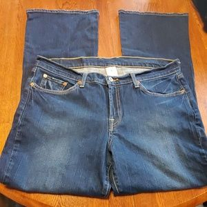 Lucky brand, size 18/34 jeans.